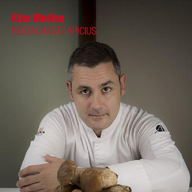 Apicius. Kike Medina. restaurantes del valencia culinary festival