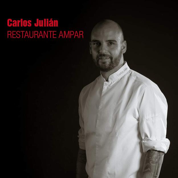 CARLOS JULIAN restaurantes del valencia culinary festival. gastronomía valenciana