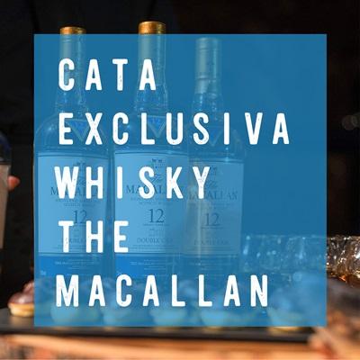 Cata exclusiva Whisky Macallan valencia culinary festival SH Hoteles