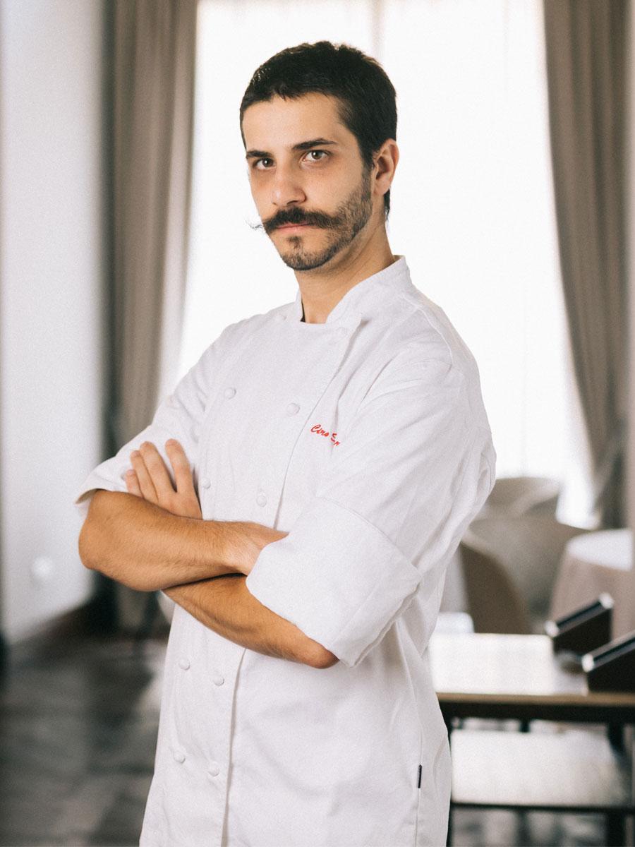 Ciro Scamardella. Chef invitado al valencia culinary festival 2019. Cena cuatro manos restaurante sucede con una estrella michelín