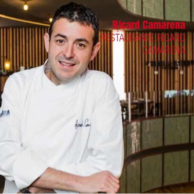 RICARD CAMARENA restaurantes del valencia culinary festival. gastronomía valenciana