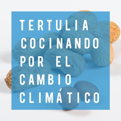"""Tertulia """"Cocinando por el cambio climático""""valencia culinary festival 2020 casa montaña"""