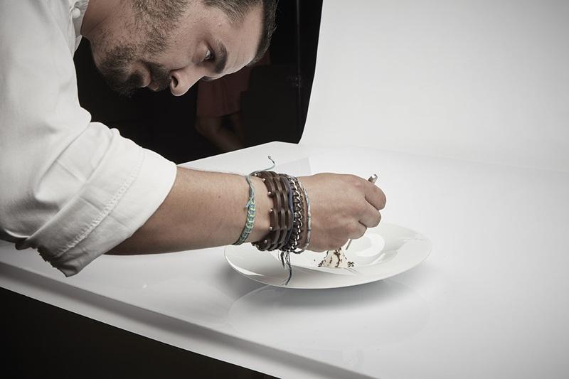 restaurante sucede en el valencia culinary festival.Miguel angel mayor una estrella michelín. valencia