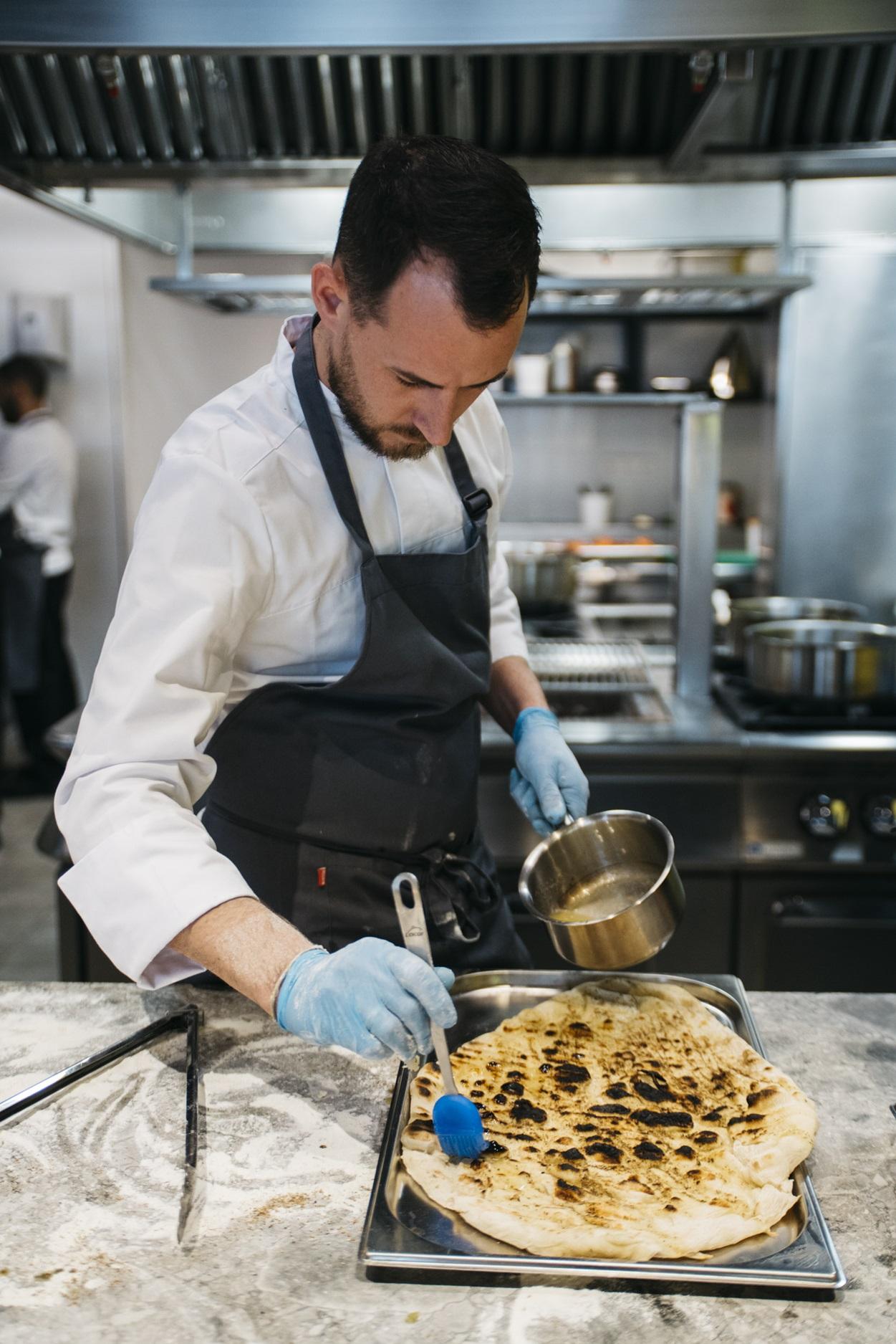 valencia culinary festival clase de cocina y posterior cena en Baalbec con Steve Anderson y Alejandro Gomez